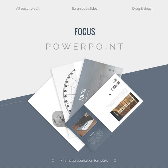 FOCUS - Minimal Powerpoint Presentation