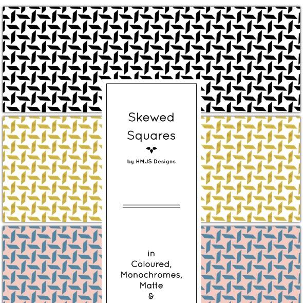 Skewed Squares Pattern Set