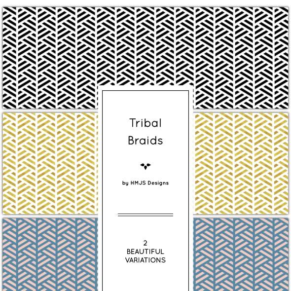 Tribal Braid Pattern Set