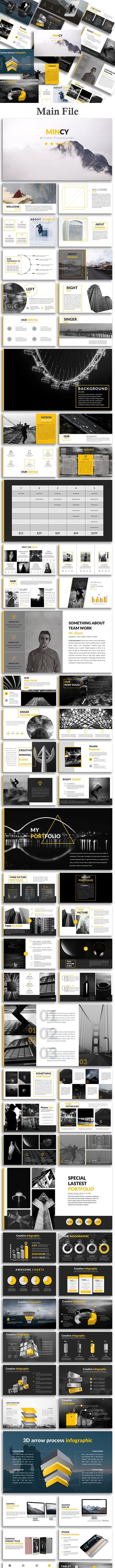 Mincy - Creative PowerPoint Template - Creative PowerPoint Templates