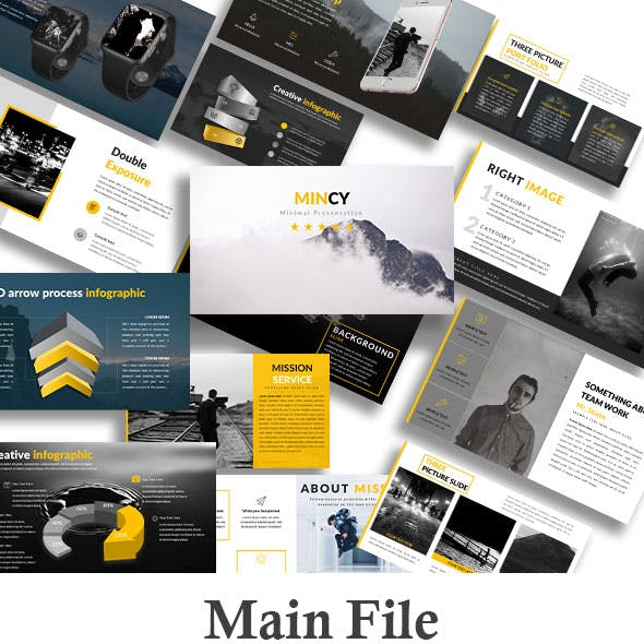 Mincy - Creative PowerPoint Template