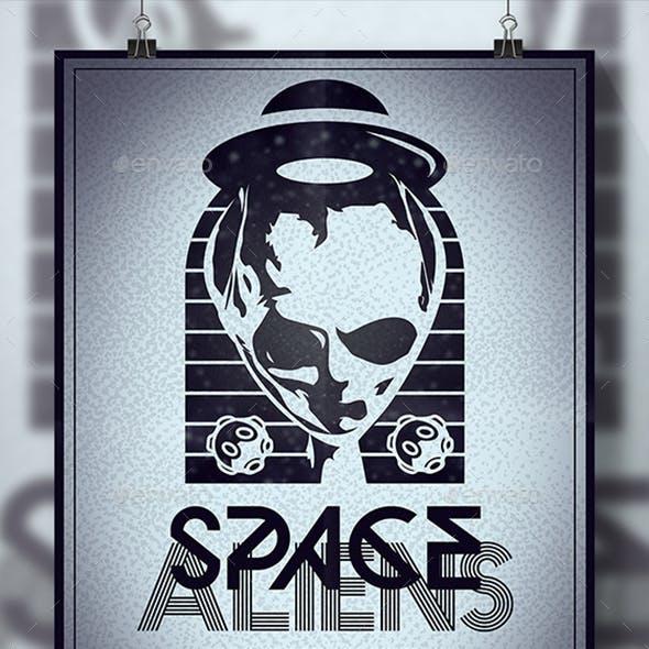 Alien Abduction Flyer