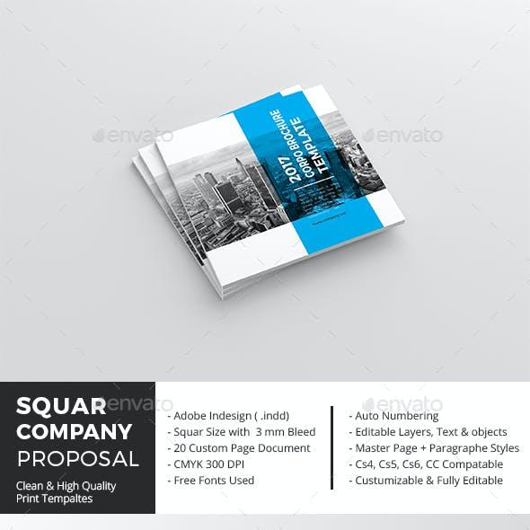 Squar Company Proposal Template