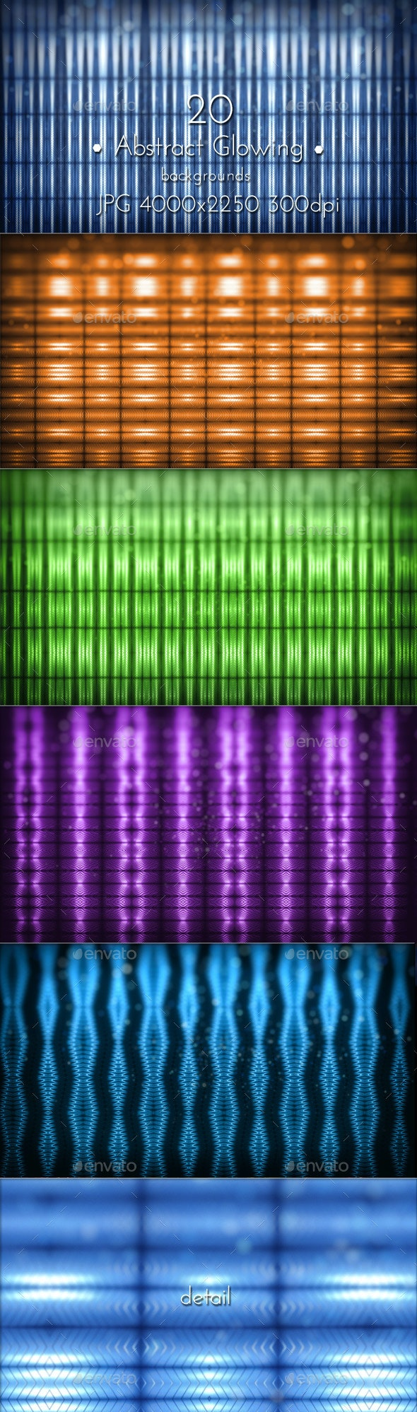 Abstract Glowing Pattern - Patterns Backgrounds