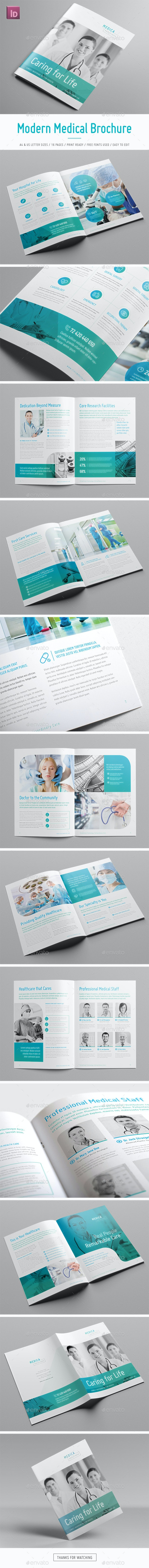 Modern Medical Brochure - Informational Brochures