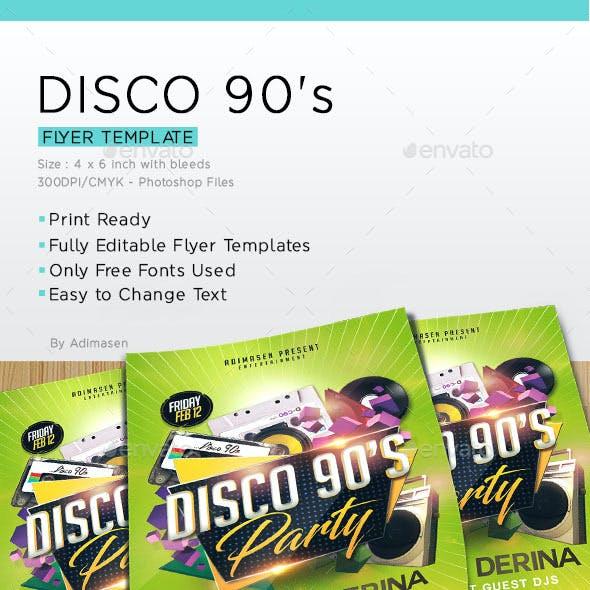 Disco 90's Party