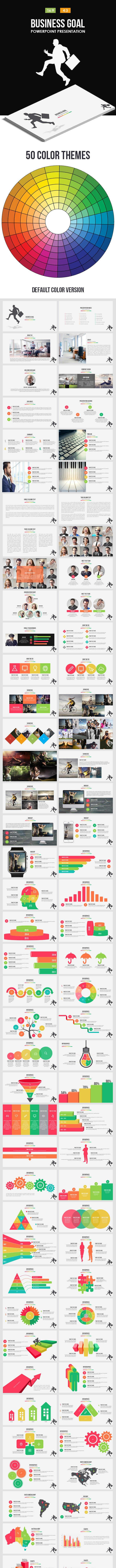 Business Goal Powerpoint Template - Business PowerPoint Templates