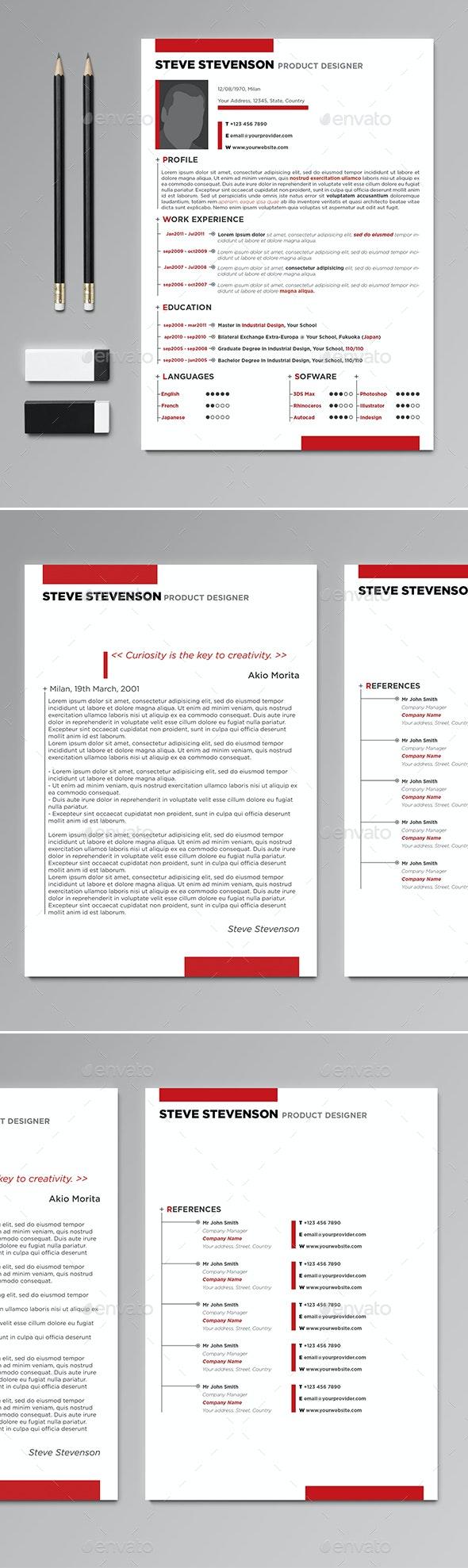 Professional CV / Resume - Resumes Stationery