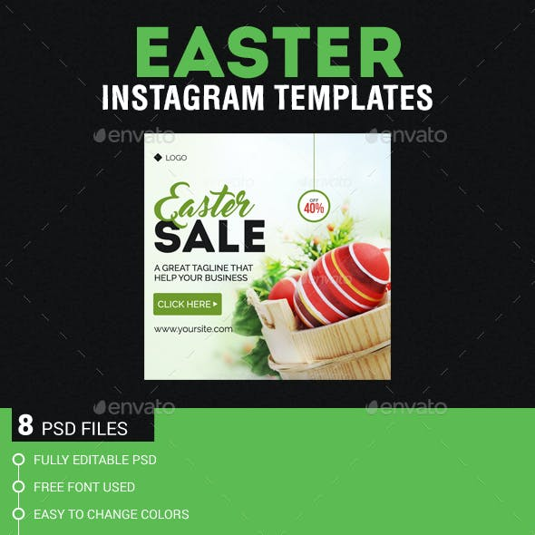 Easter Instagram Templates