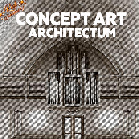 Concept Art Architectum Photoshop Action