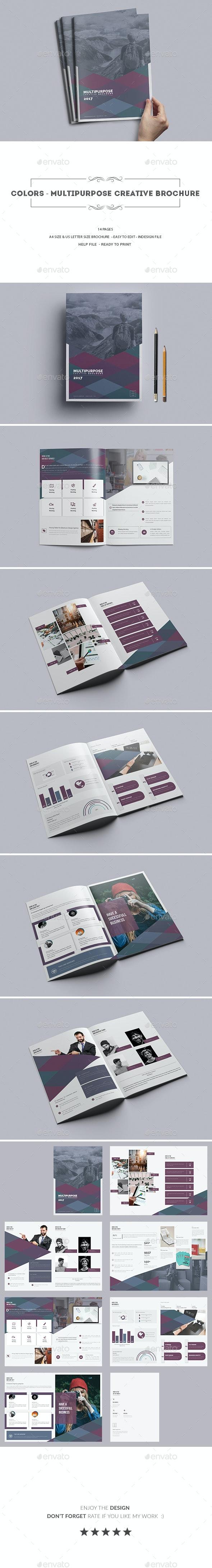 Colors- Multipurpose Creative brochure - Corporate Brochures