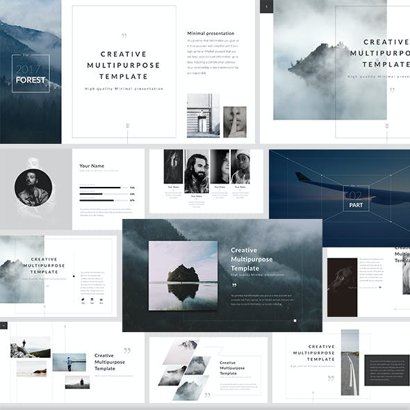 Forest - Keynote Presentation Template