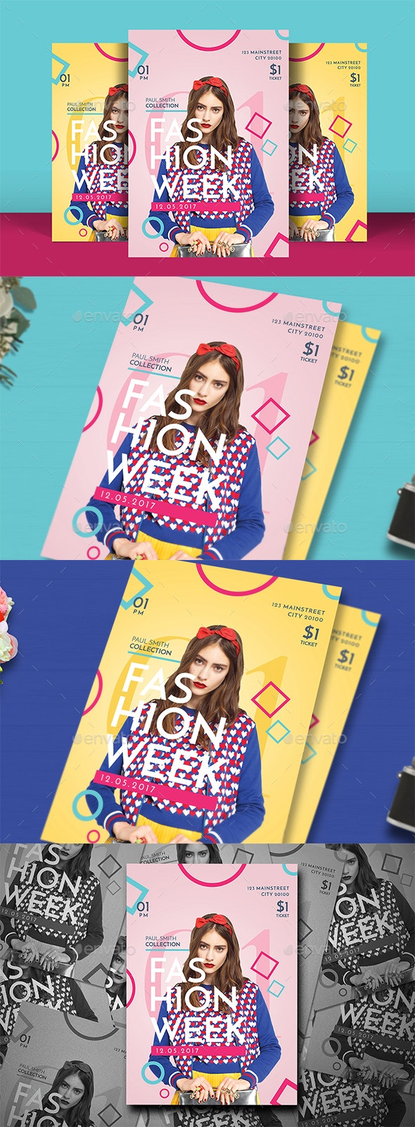 Pop Fashion Flyer - Events Flyers