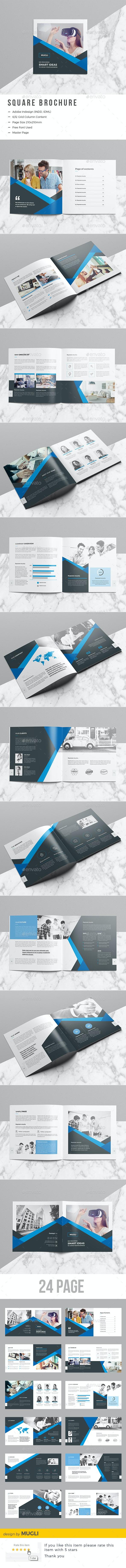 Square Brochure - Corporate Brochures