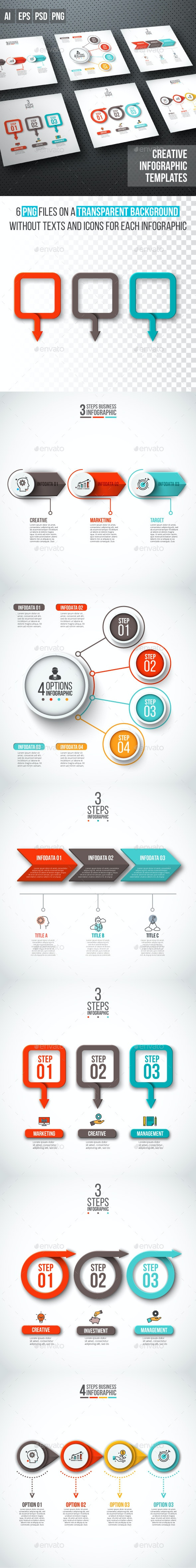 Business infographic diagrams v.15 - Infographics