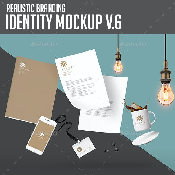 Branding & Identity Design Mockups