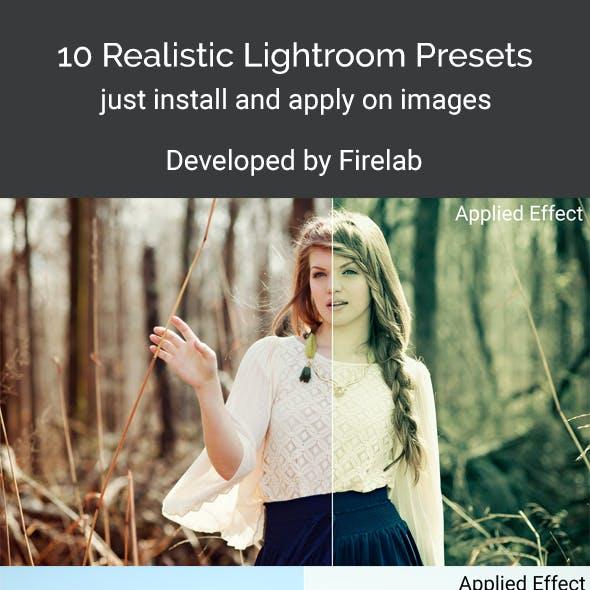 10 Realistic Lightroom Presets