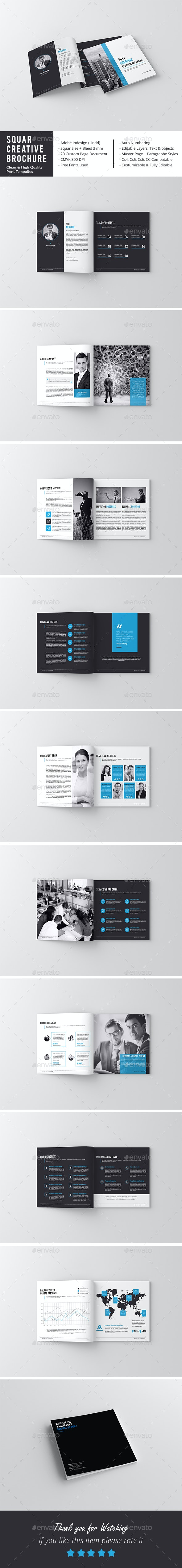 Squar Corporate Landscape Brochure - Corporate Brochures
