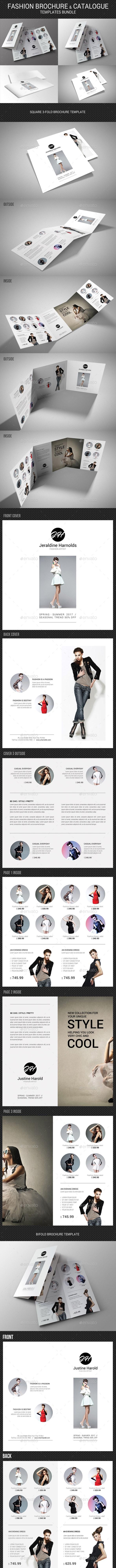 4 Fashion Brochure Bundle - Catalogs Brochures