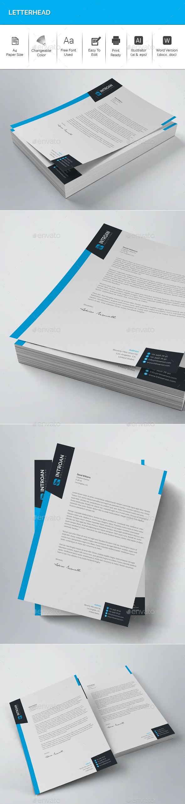 Letterhead - Stationery Print Templates