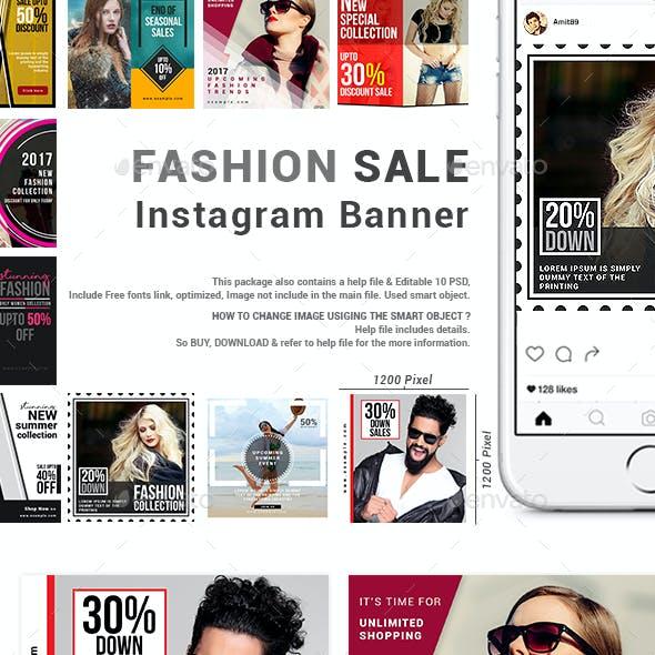 Fashion Sale Instagram Banner