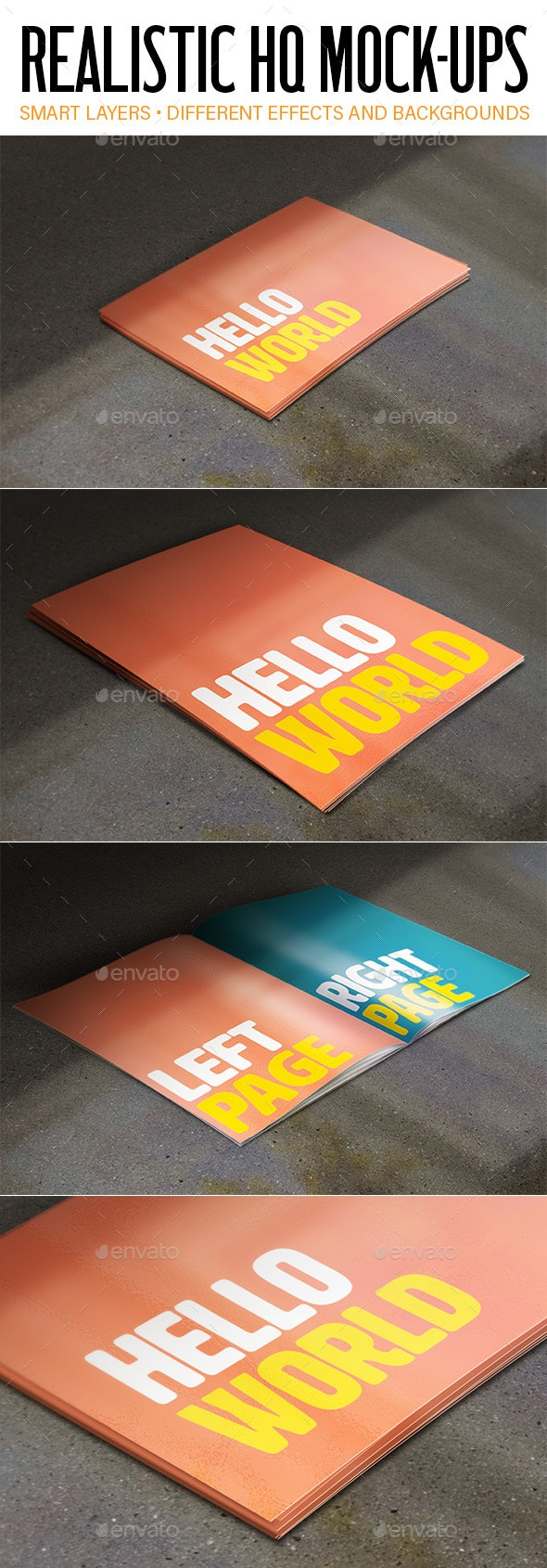 Realistic Mock-Ups - Product Mock-Ups Graphics