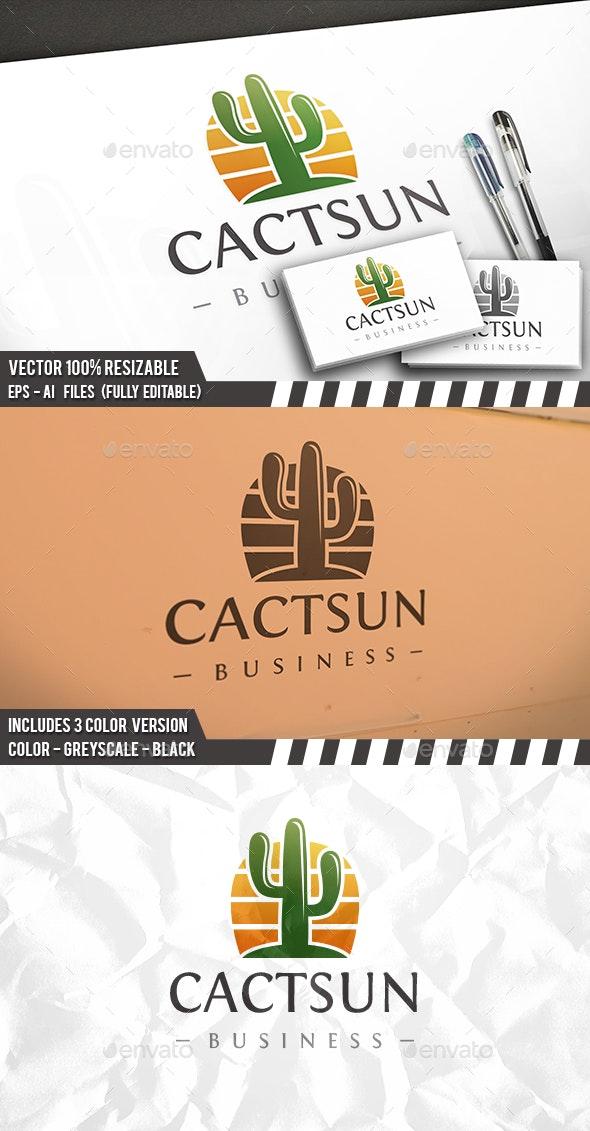 Cactus Logo - Nature Logo Templates