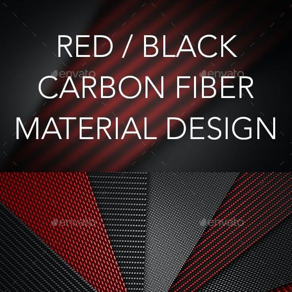 Carbon Fiber Textured Material Design