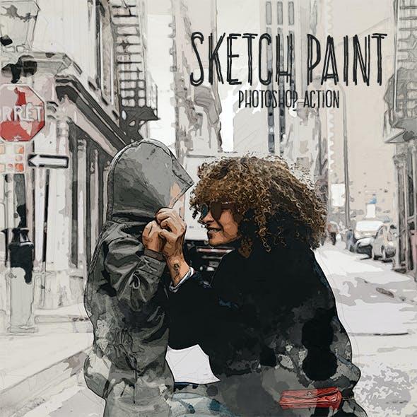 Sketch Paint Photoshop Action