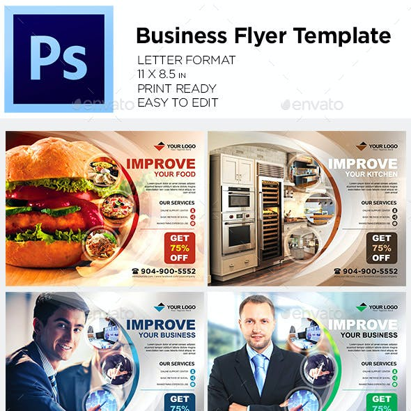 Business Flyer Template / Coorporate Flyer