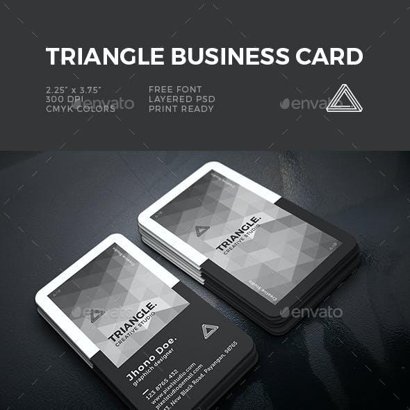 Triangle Creative Business Card