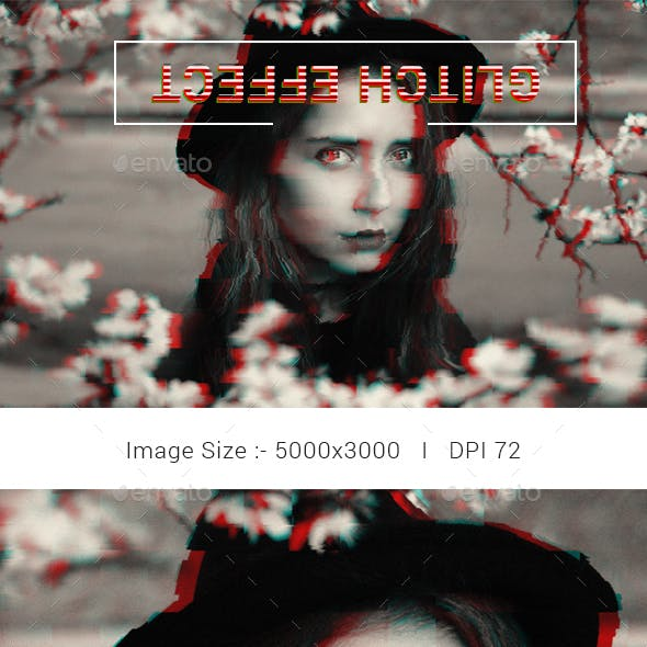 Glitch Photo Effects