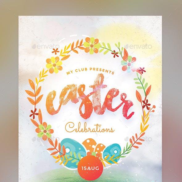Easter Celebration Flyer