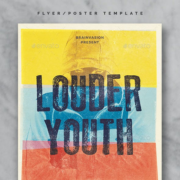 Indie Flyer/Poster Template Vol.24