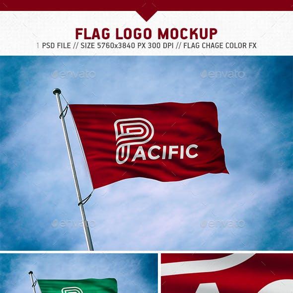 Flag Logo Mockup