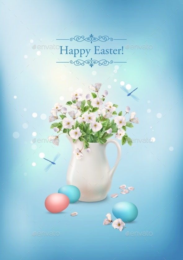 Happy Easter Card - Seasons/Holidays Conceptual