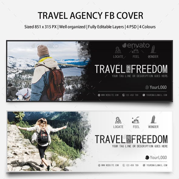 Travel Agency FB Covers