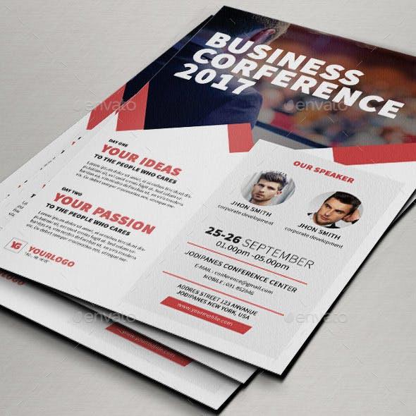 Conference Flyer V4