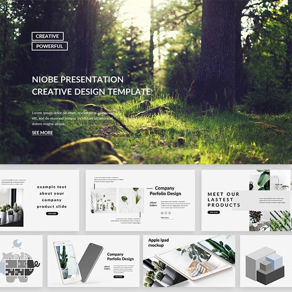 Niobe - Creative Powerpoint Template