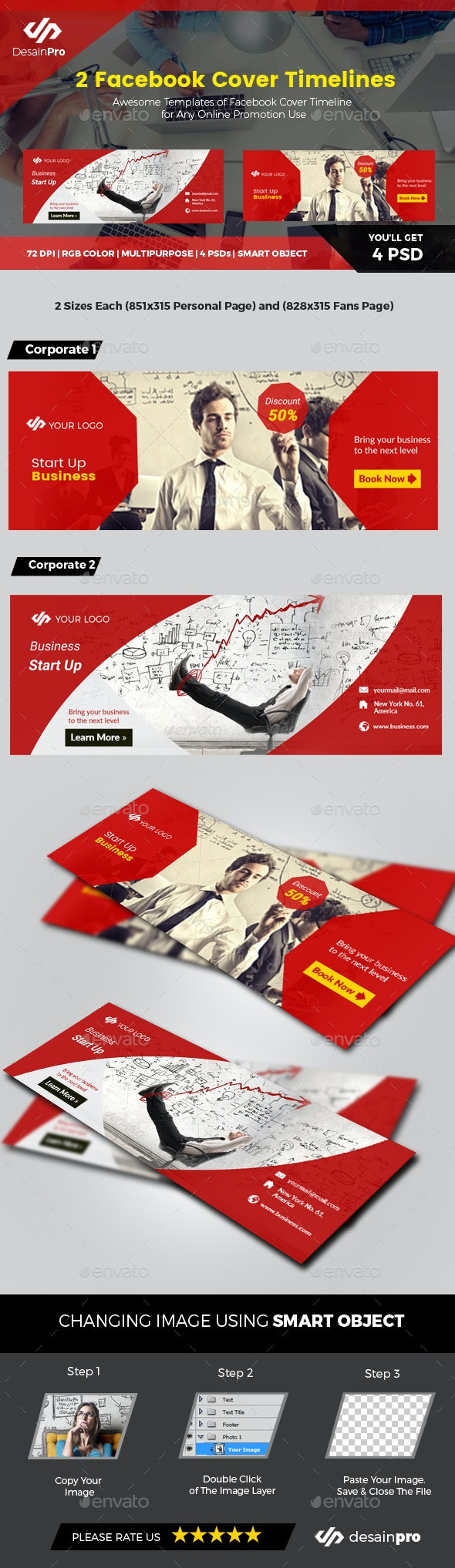 Red Business Facebook Covers - Facebook Timeline Covers Social Media