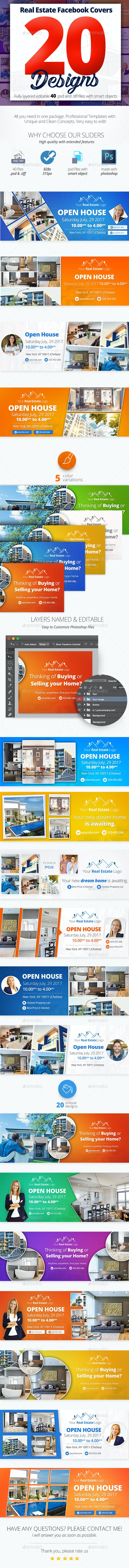 Real Estate Facebook Covers 20 Designs - Facebook Timeline Covers Social Media