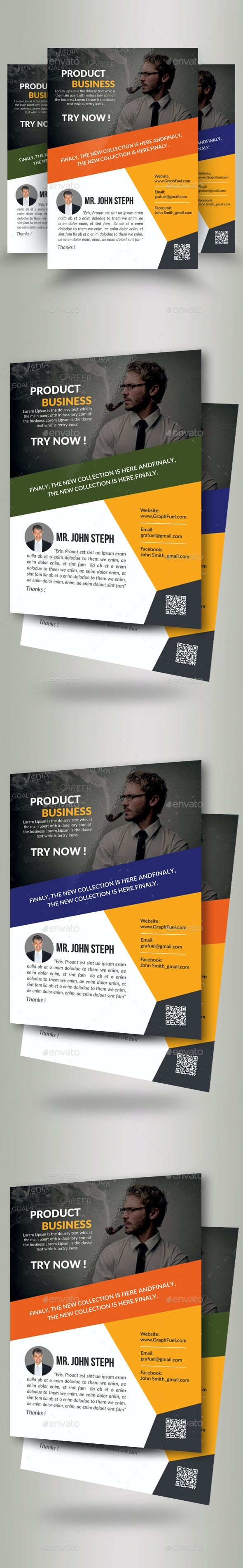 Employment Agency Business Flyer Template - Corporate Flyers
