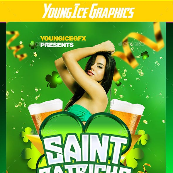 Saint Patricks Day Flyer Template