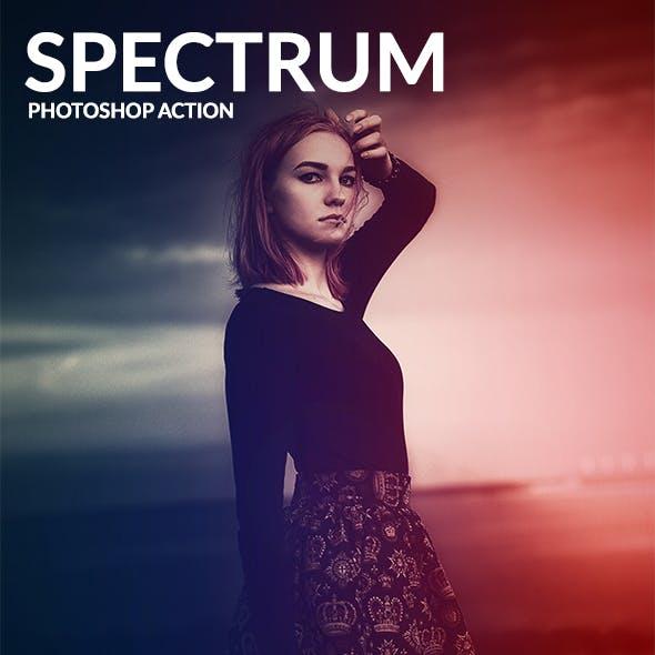 Spectrum - Photoshop Action