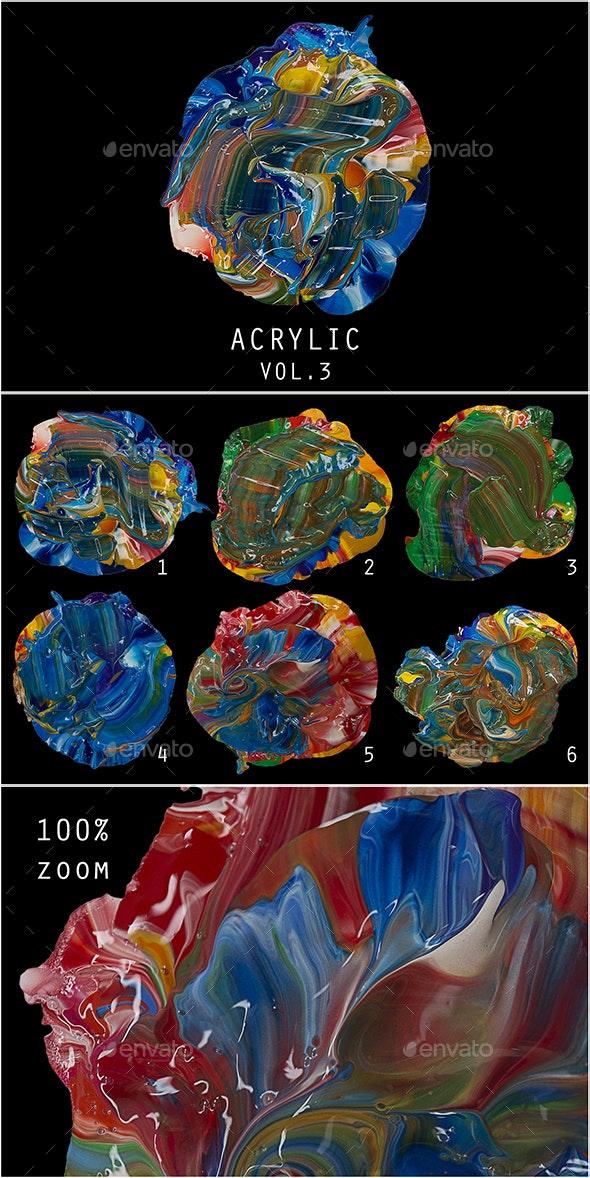 Handmade Acrylic Vol. 3 - Abstract Backgrounds