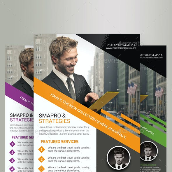 Marketing Consultant Agency Flyer