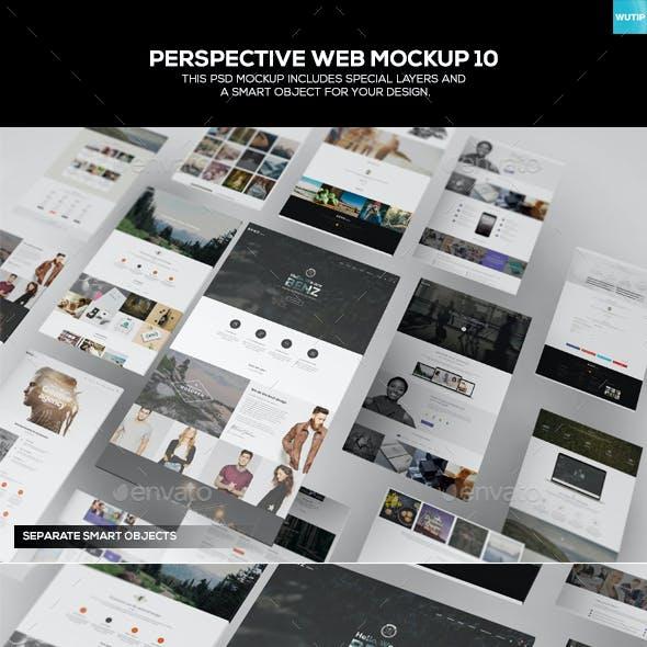 Perspective Web Mockup 10