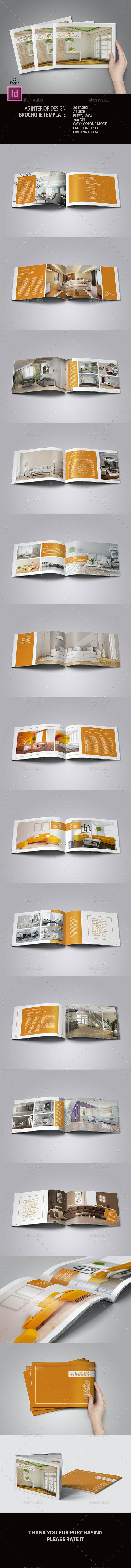 A5 Landscape Interior Brochure - Catalogs Brochures