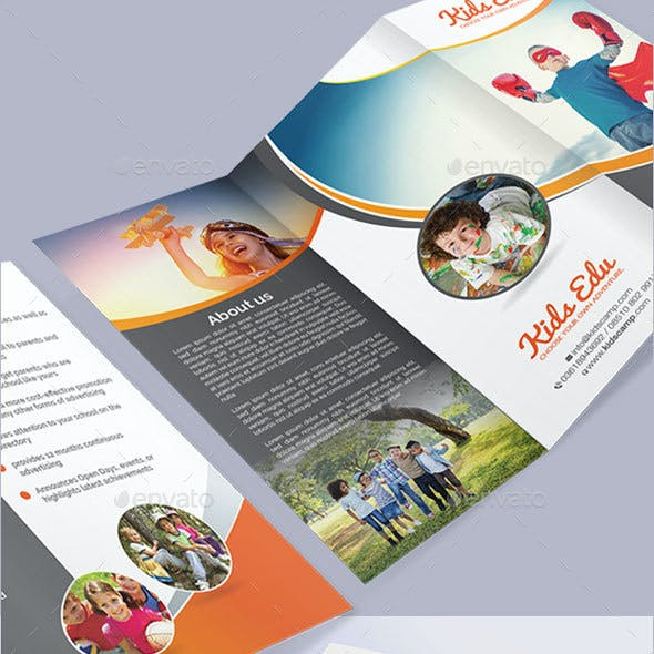 Kids Camp Education Brochure