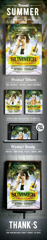 Summer Flyer/Poster Vol. 2 - Holidays Events